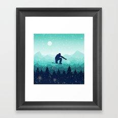 Skyline Return Framed Art Print