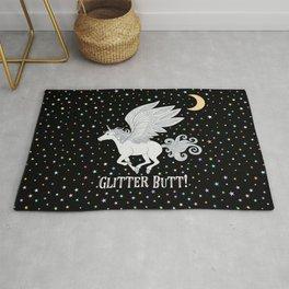 Glitter Butt! Rug