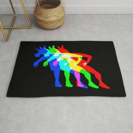 RGB Unicorn V02 Rug