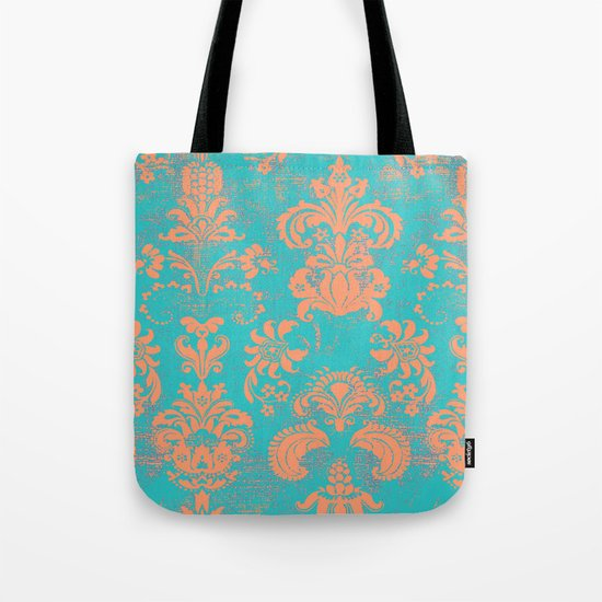 coral breeze Tote Bag