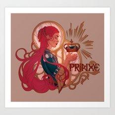 Enby royalty - Prinxe Art Print
