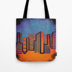 Opposing Sky Tote Bag
