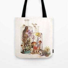 WITCH BOTTLES Tote Bag