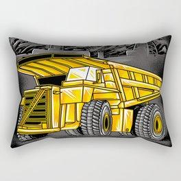 Support Coal Dump Truk Rectangular Pillow