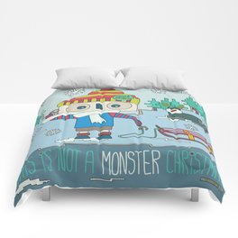 This is not a Monster Christmas Comforters
