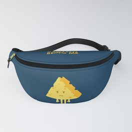It ain't easy being cheesy Fanny Pack
