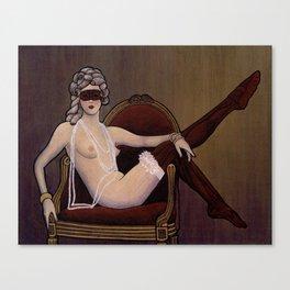 rococonouveau Canvas Print