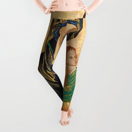 Our Mother of Perpetual Help Virgin Mary Leggings