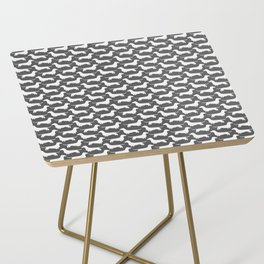 Dachshund Silhouette(s) Side Table