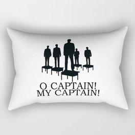 O Captain My Captain Rectangular Pillow