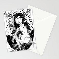 tree lady Stationery Cards