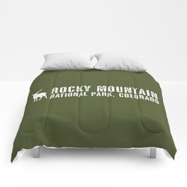 Deer: Rocky Mountain, Colorado Comforters