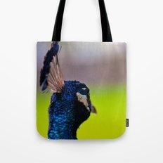 Pretty as a Peacock II Tote Bag