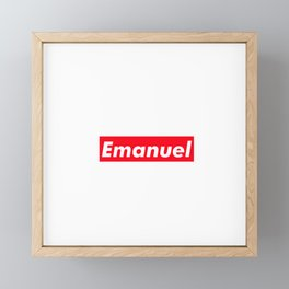 Emanuel Framed Mini Art Print