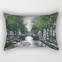 Canal Cruise Rectangular Pillow