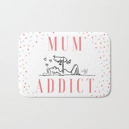 Mum Addict Bath Mat