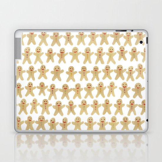 Gingerbread people Laptop & iPad Skin
