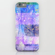 Glitched Tree Canopy iPhone 6s Slim Case