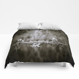 Ice on the Wire Comforters