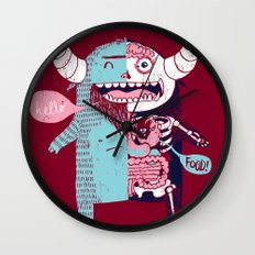All Monsters are the Same Wall Clock