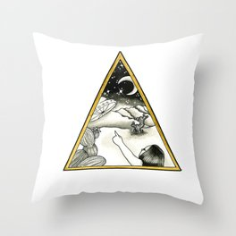 Desert Sightings Throw Pillow