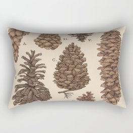 Pinecones Rectangular Pillow