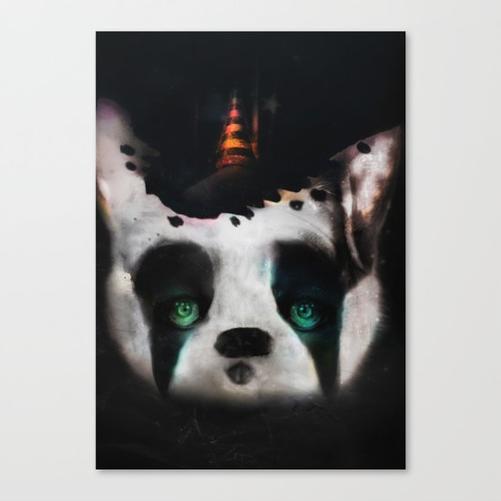 Dog ( Capalau) Canvas Print
