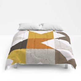 Mid Century Geometric 21 Comforters