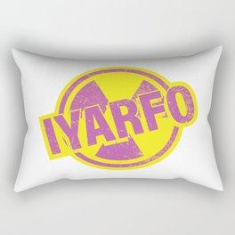 IYARFO Magenta Rectangular Pillow