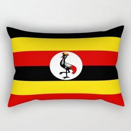 Flag of Ugandan Rectangular Pillow