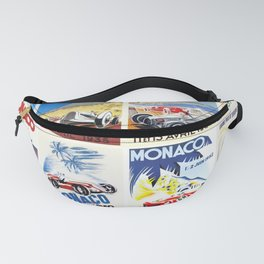Monaco Grand Prix 1930 1966 Fanny Pack