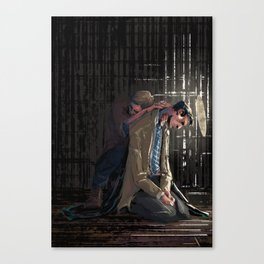 In a cage Canvas Print