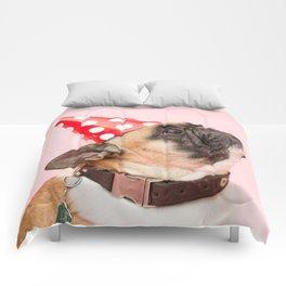Pug Birthday Party! Comforters