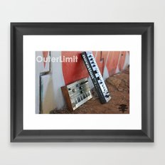 OuterLimit Syntheseizers  Framed Art Print