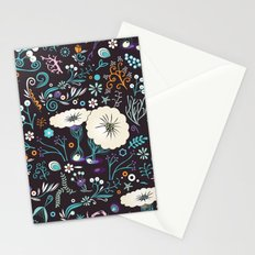 Subsea floral pattern Stationery Cards