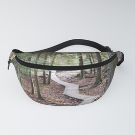 Duckboards to deep forest Fanny Pack