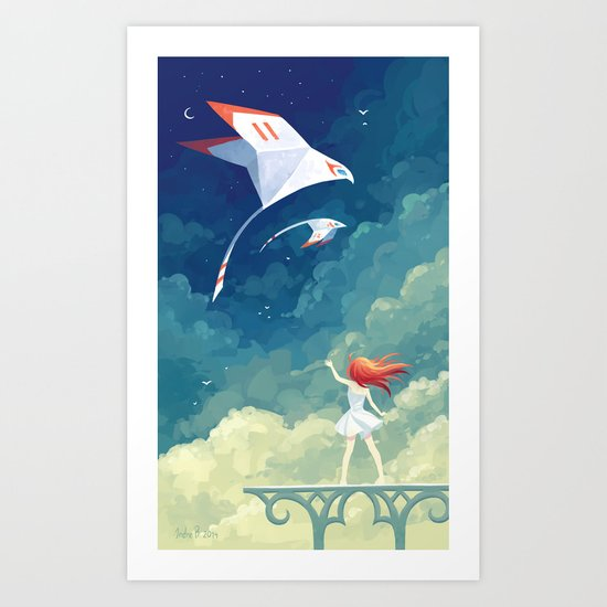 Flyby Art Print