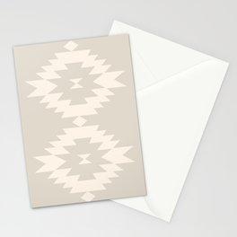 Southwestern Minimalism - White Sand Stationery Cards