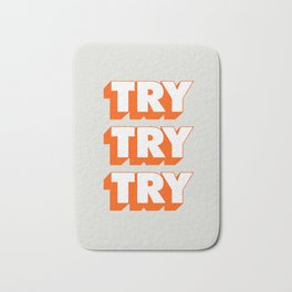Try Try Try Bath Mat