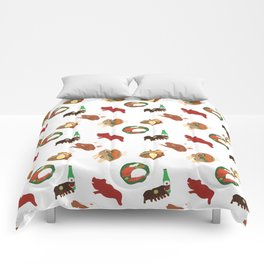Balinese Food Pattern Comforters