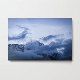 Nightfall in the Himalayas Metal Print