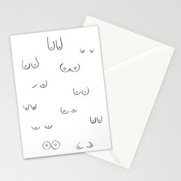 boobs Stationery Cards