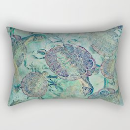 Watery Whimsy Rectangular Pillow