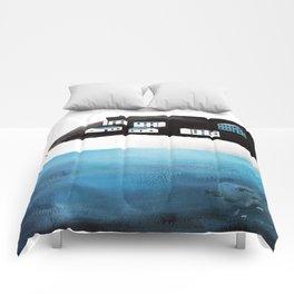 Somewhere Here Comforters
