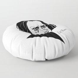 Franz Liszt Floor Pillow