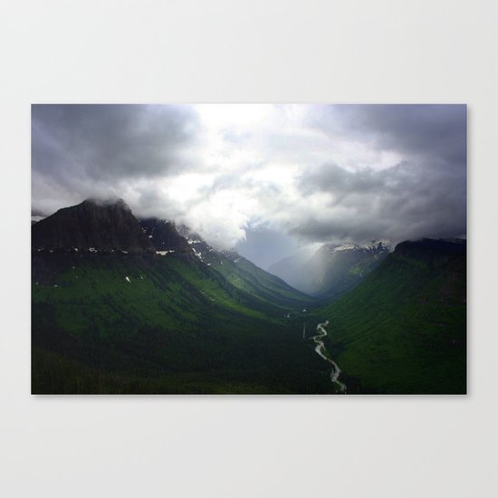 Mystic Mountains Canvas Print