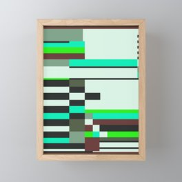Geometric design - Bauhaus inspired Framed Mini Art Print