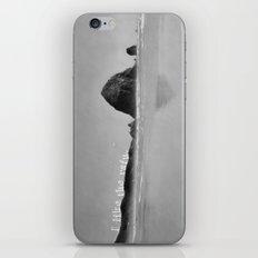 I like the rain. iPhone & iPod Skin
