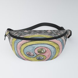 Celtic Knotwork Circle and Spiral Fanny Pack