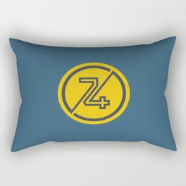 74 Rectangular Pillow